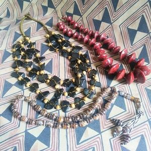 Earthy beaded Jewelry from all over the World!